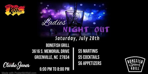 Ladies Night Out with Clarke Jones