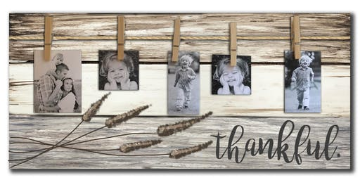 Thankful Photo Pallet Sign Art Paint Maker Party Sip & Create Class