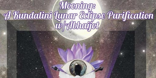 MOONing:A Kundalini Sweat Purification