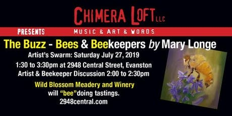 Artist Swarm: The Buzz - Bees & Beekeepers Art by Mary Longe tickets