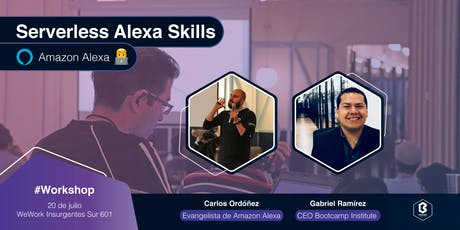 Serverless Alexa Skills [Workshop ] entradas