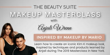 The Beauty Suite MAKEUP MASTERCLASS with Anjali Wrenn tickets
