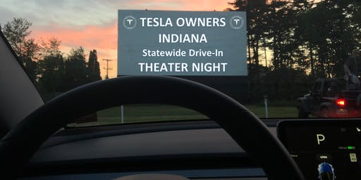 TESLA THEATER NIGHT  - Tibbs Drive-In Theater (SW Indy... 1st of 4 Locations)