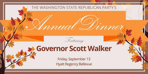 The Washington State Republican Party's Annual Fall Dinner (State Committee)