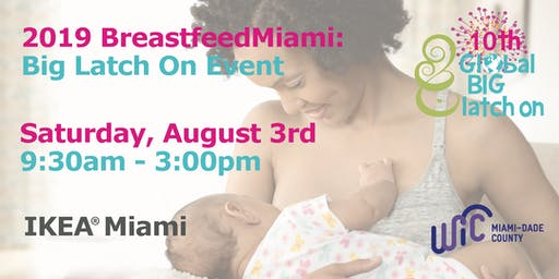 2019 BreastfeedMiami:     Big Latch On Event