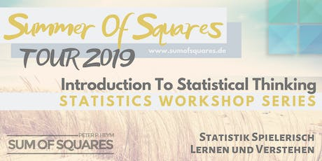 Introduction into Statistical thinking Berlin tickets