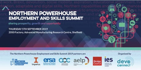 The Northern Powerhouse Employment and Skills Summit 2019 tickets