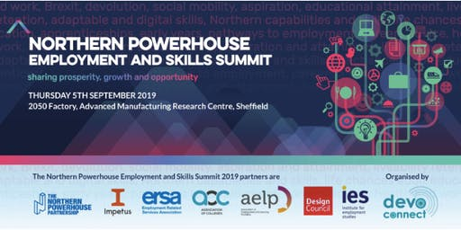 The Northern Powerhouse Employment and Skills Summit 2019