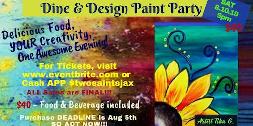 Dine & Design Paint Party