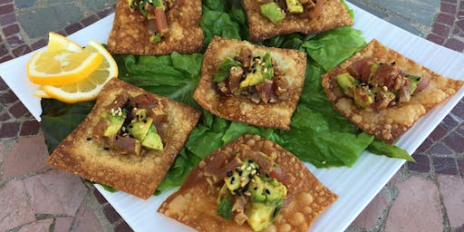 FREE COOKING DEMO: SEARED AHI POKE