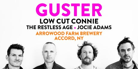 Guster at Arrowood Farms with Low Cut Connie, The Restless Age, Jocie Adams tickets