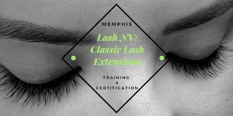 Lash NV: Classic Lash Extensions Training Class | Nashville, TN tickets