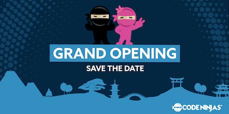 Grand Opening Celebration @ Code Ninjas Elmhurst tickets
