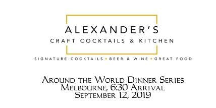 Melbourne, Around the World Dinner Series