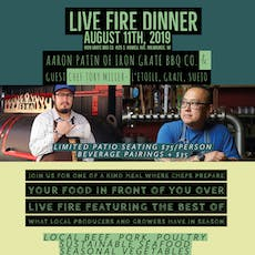 Live Fire Dinner w/ Chef Tory Miller @ Iron Grate BBQ Co. tickets