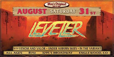 Leveler at Moe's Original BBQ Englewood tickets