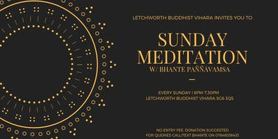 Sunday Mindfulness