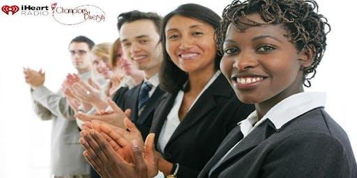 I Heart Radio Houston Champions of Diversity Job Fair