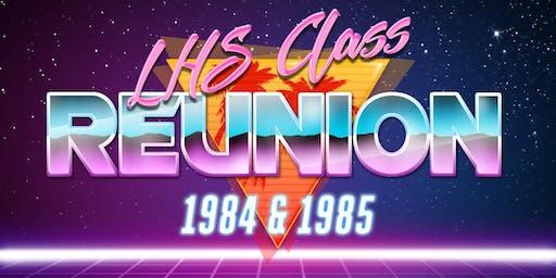 LHS Class of 84-85 Reunion