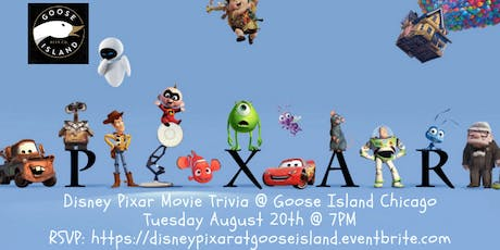 Disney Pixar at Goose Island Brewhouse Chicago tickets