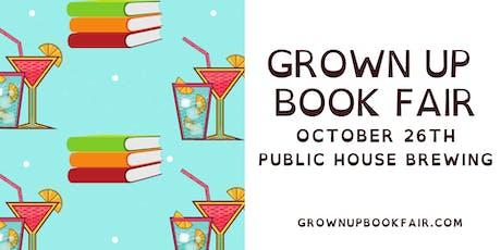 Grown Up Book Fair October tickets
