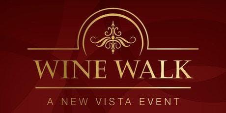 New Vista Wine Walk at Town Square tickets