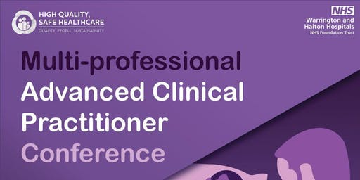 Multi-professional Advanced Clinical Practitioner Conference