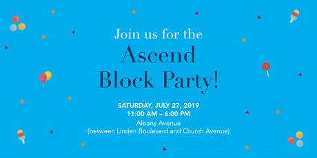 Ascend's New Neighbor Block Party tickets
