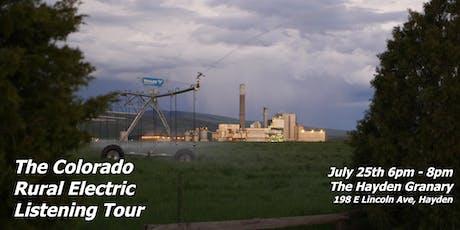 Rural Electric Listening Tour - Hayden tickets