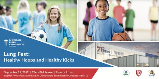 Lung Fest Presents: Healthy Hoops and Healthy Kicks           (FREE EVENT)