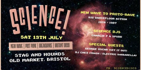 Science! Disco Punk Party! tickets