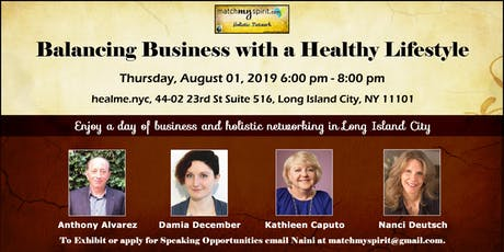 Balancing Business with a Healthy Lifestyle tickets