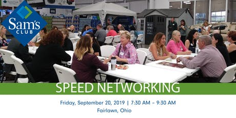 Speed Networking @ Sam's | Business Professionals in Fairlawn tickets