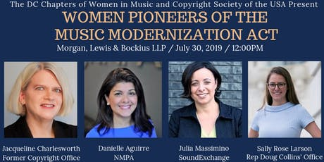 Music Modernization Act: Hear from Leading Women Who Made It Happen tickets