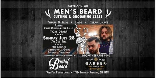Men's Beard Cutting & Grooming Class - Master Barber Tom Starr