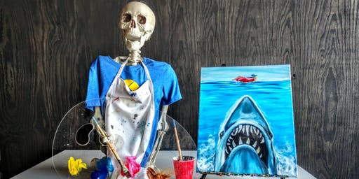 KC Horror Club Paint Night: Shark!