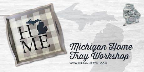 Michigan Home Scallop Tray Workshop tickets