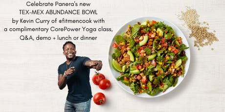 Fitness Fiesta by Panera + Kevin Curry of @FitMenCook tickets