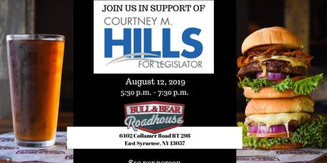 Fundraiser for Courtney Hills tickets