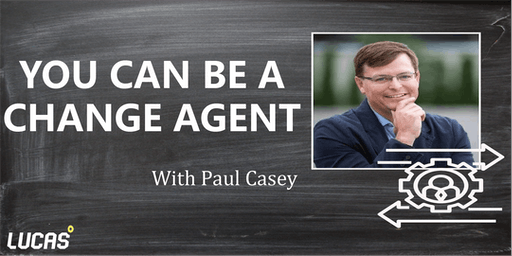 You Can Be a Change-Agent Class