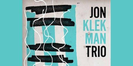 Jon Klekman Trio tickets