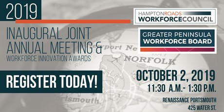 2019 Inaugural Joint Annual Meeting & Workforce Innovation Awards tickets