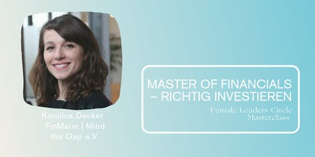 Master of Financials – richtig investieren Tickets