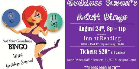 Goddess Susan's Adult Bingo tickets
