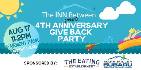 4th Anniversary Give Back Party tickets