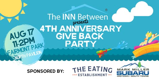 4th Anniversary Give Back Party