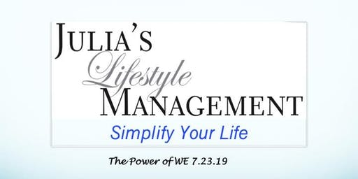 Power of W.E. - Simplify Your Life!