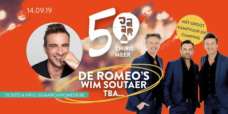 50 jaar Chiro Meer tickets