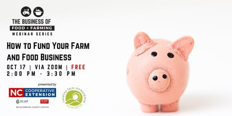 How to Fund Your Farm and Food Business tickets