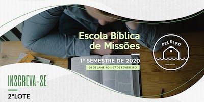 2 º Lote - Inscrição Processo Seletivo Celeiro 2020